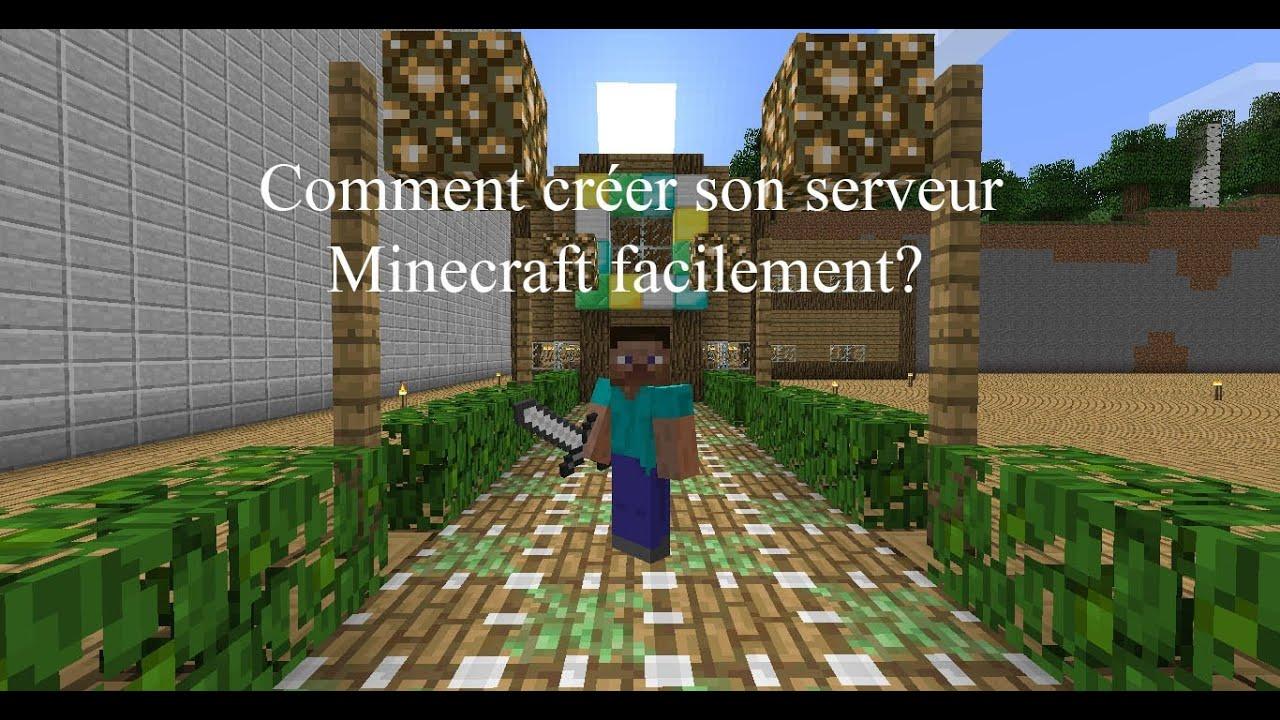 Tuto comment cr er son serveur minecraft facilement youtube - Comment creer un chateau dans minecraft ...