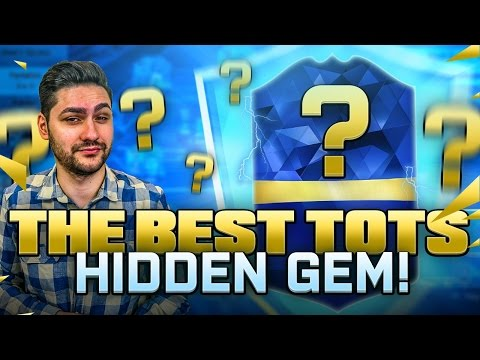 THE BEST FIFA 16 TOTS HIDDEN GEM - TEAM OF THE SEASON OVERPOWERED BEAST CARD - FIFA 16 ULTIMATE TEAM