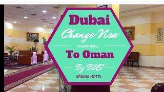 Dubai to Oman Change  visa