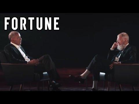 Netflix初のトークショー番組でオバマ元大統領「次はミシェル」