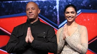 xXx: The Return of Xander Cage Movie - Press Conference | Vin Diesel, Deepika Padukone