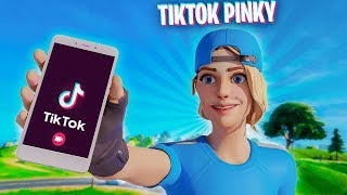 I put my TIKTOK in my Fortnite name and DANCED on every kill...