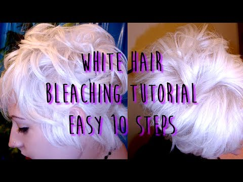 Hair Bleaching Tutorial by xsullengirlx