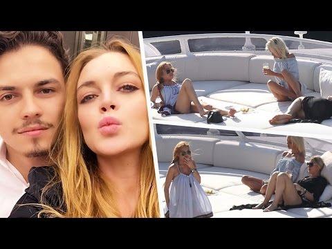 Lindsay Lohan: Ciao, Egor... I'm On a Boat