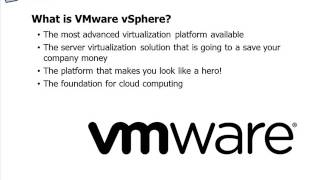 Getting Started with VMware vSphere 5 Training Course - Lesson01