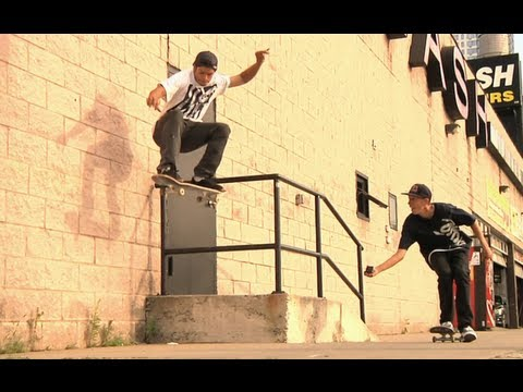 Joey Brezinski prepares for Manny Mania - Skaters in NY 2012 USA - Part 1