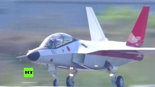 RT - Japan X-2 Stealth Fighter First Flight [1080p]