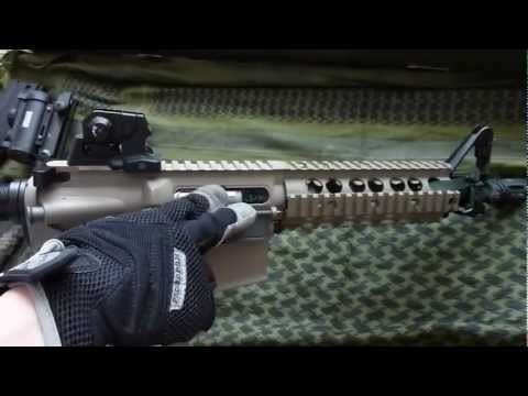 Gr15 raider blowback G&G airsoft (M4) HD (francais)
