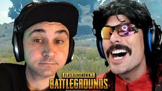DrDisRespect Destroys Summit1g on PUBG and Funny Moments on Battlegrounds!