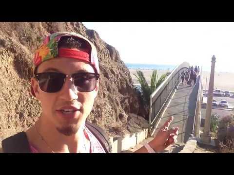 U.S. Busking Tour - Santa Monica