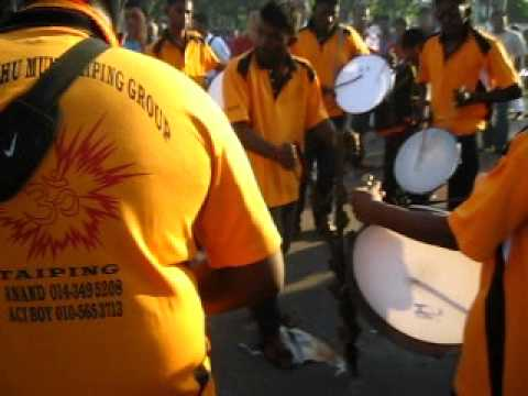 Sri Kathe Muni Taiping Group {tappu Melam} video