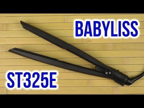 Распаковка BABYLISS ST325E