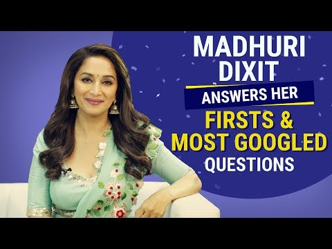 Madhuri Dixit answers her firsts and most googled questions   Pinkvilla   Bollywood   Fashion thumbnail