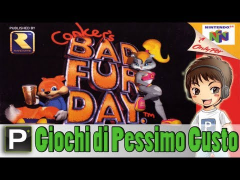 Giochi di Pessimo Gusto - EP11 Conker's Bad Fur Day (N64)