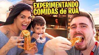 BRAZILIAN TRYING AMERICAN FOOD