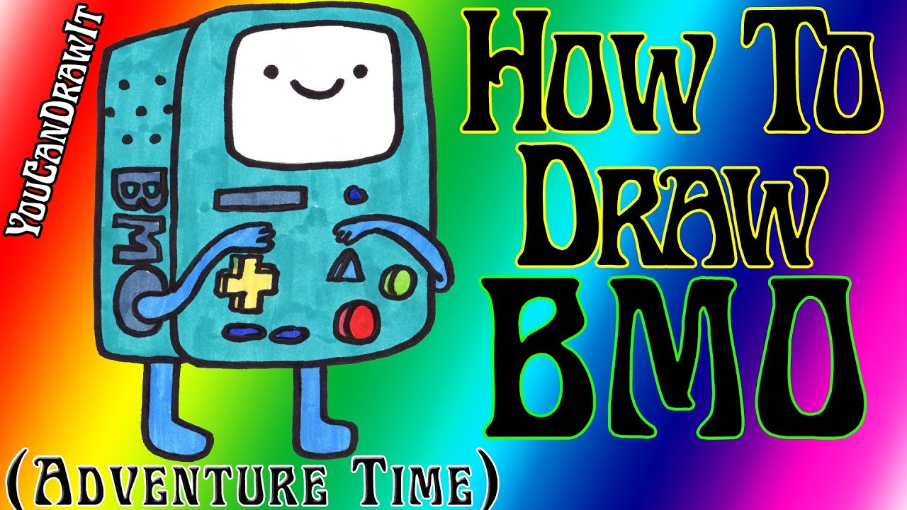 how to draw bmo from adventure time youcandrawit  u30c4 1080p