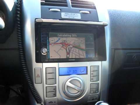 Scion tC RS 4.0 Kenwood DDX-512 Navigation System KNA-G510 ...