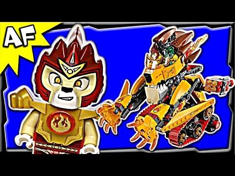 Laval's FIRE LION 70144 Lego Legends of Chima Stop Motion Set Review