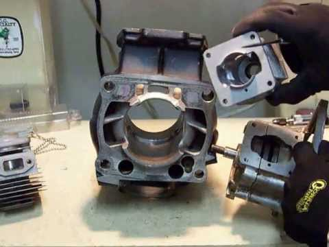 2 stroke transfer ports information. along with porting and polishing tips