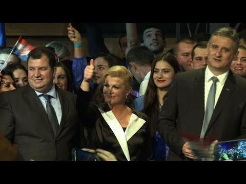 Croatia elects first woman president after tight vote