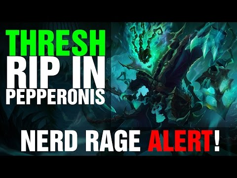 Thresh Nerf Rage League of Legends PBE by impaKt