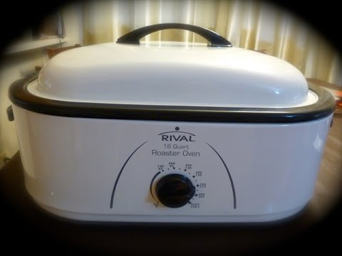 RIVAL ROASTER OVEN 18-QUART UNBOXING AND REVIEW   By Victoria Paikin