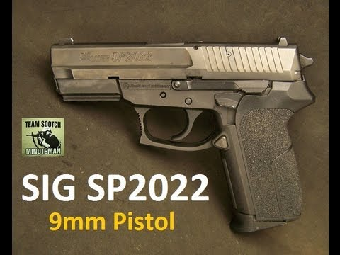 Sig SP2022 9mm Pistol