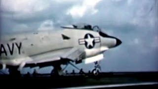 McDonnell F3H-2N Demon Newsreel - 1956