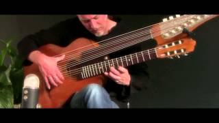 Brin Addison Beethoven 39 S Moonlight Sonata 15 String Harp Guitar