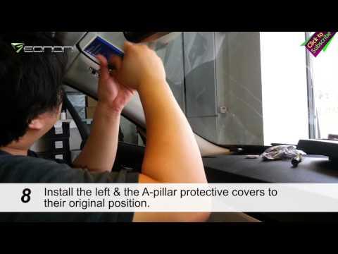 Installation Guide for Eonon Car DVD GPS D5165 BMW E90/E91/E92/E93