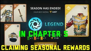 SHADOW FIGHT 3 CLAIMING SEASONAL REWARD IN CHAPTER 5