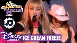 Клип Miley Cyrus - Ice Cream Freeze (live)