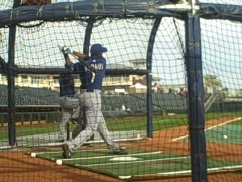 Elvis Andrus BP video