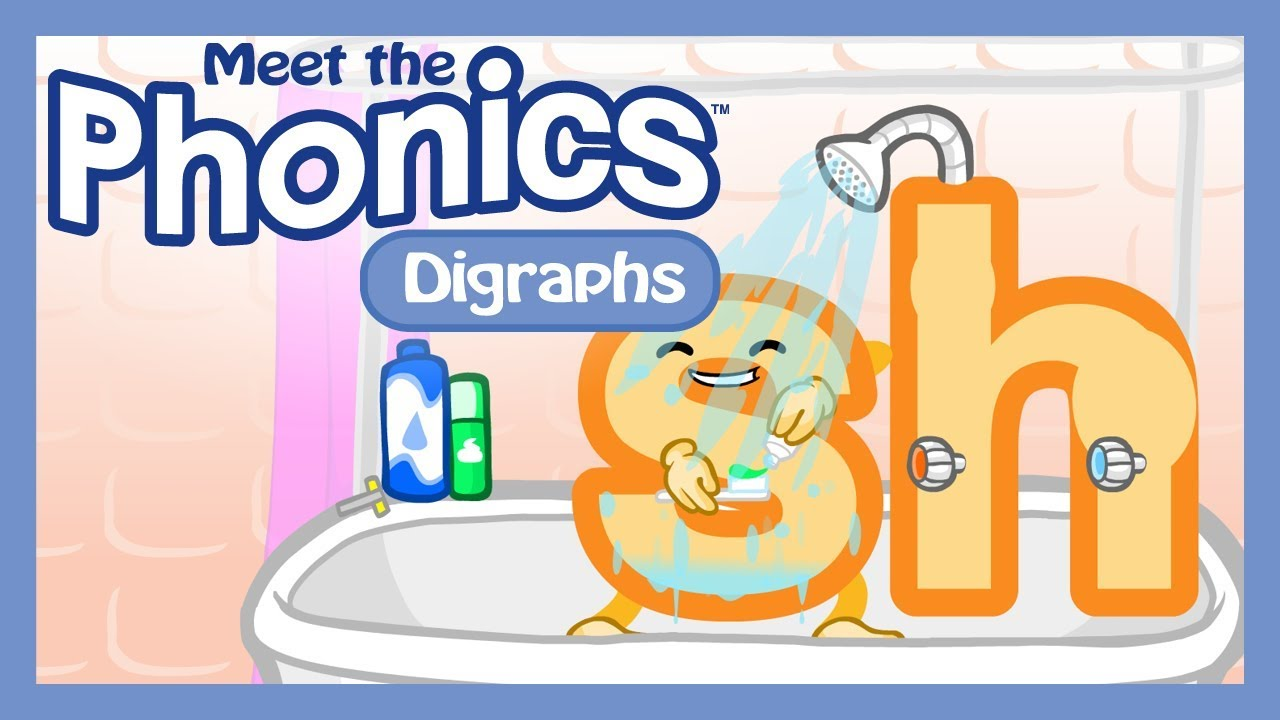 Meet the Phonics - Digraphs Preview - YouTube