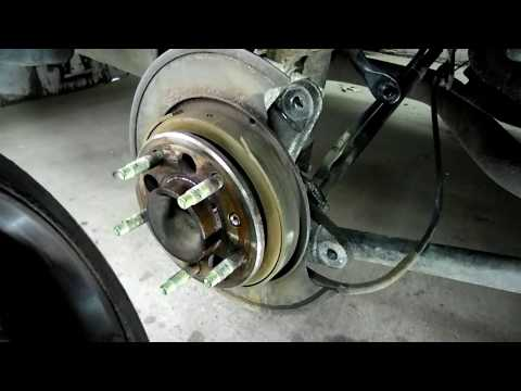 Chevrolet Impala Rear Disc Brake Replacement