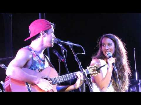 Alex & Sierra @ Hard Rock, Hollywood, FL  02.21.2014