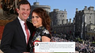 Princess Eugenie & her fiancé invite members of the public to royal wedding - How to apply