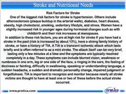 183 Stroke and Nutritional Needs.