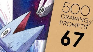 500 Prompts #67 - SPACE FISHING