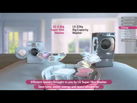 LG Super Slim Washing Machine