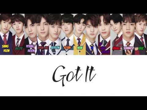 [HAN/ROM/ENG] THE BOYZ (더보이즈) - Got It (있어) (Color Coded Lyrics)