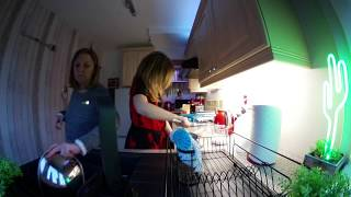 Phoebe & Mummy Cooking Time Lapse