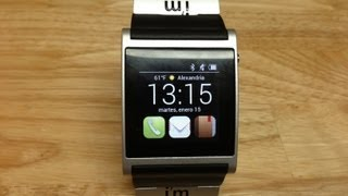 Reloj Inteligente I'm Watch análisis y revisado - Smarwatch I'm watch review