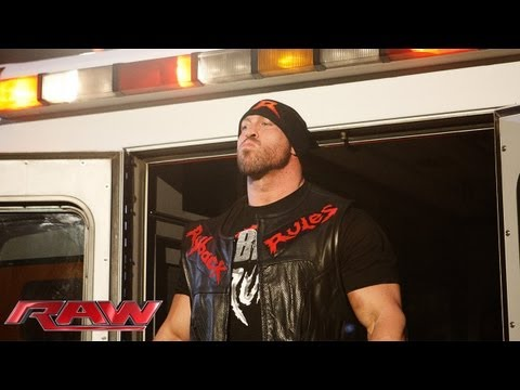 Ryback promises to send a Superstar away in an ambulance: Raw, May 20, 2013