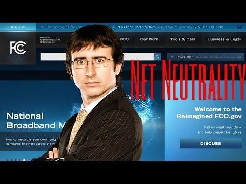 John Oliver's Net Neutrality Rant Crashes FCC Website