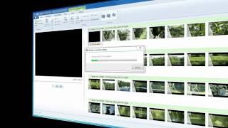 Windows live movie maker.