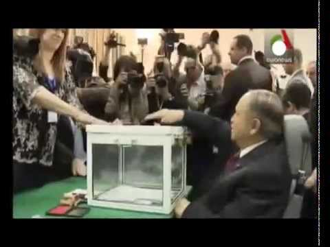 Algerian President Bouteflika wins fourth term