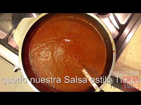 Como preparar Salsa estilo Tlaquepaque Receta Original