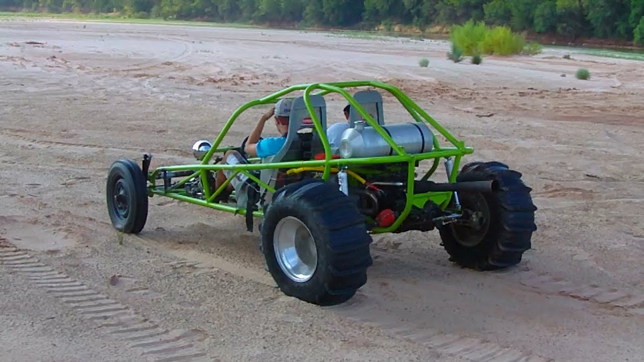 Vw Sand Rail >> VW Mid engine Sandrail first time out - YouTube