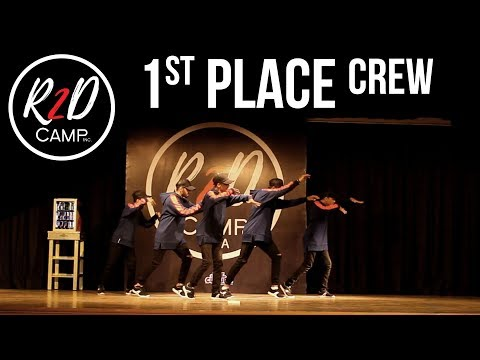 1st Place - CREW - R2D CAMP ASIA (Competition) x totheculture